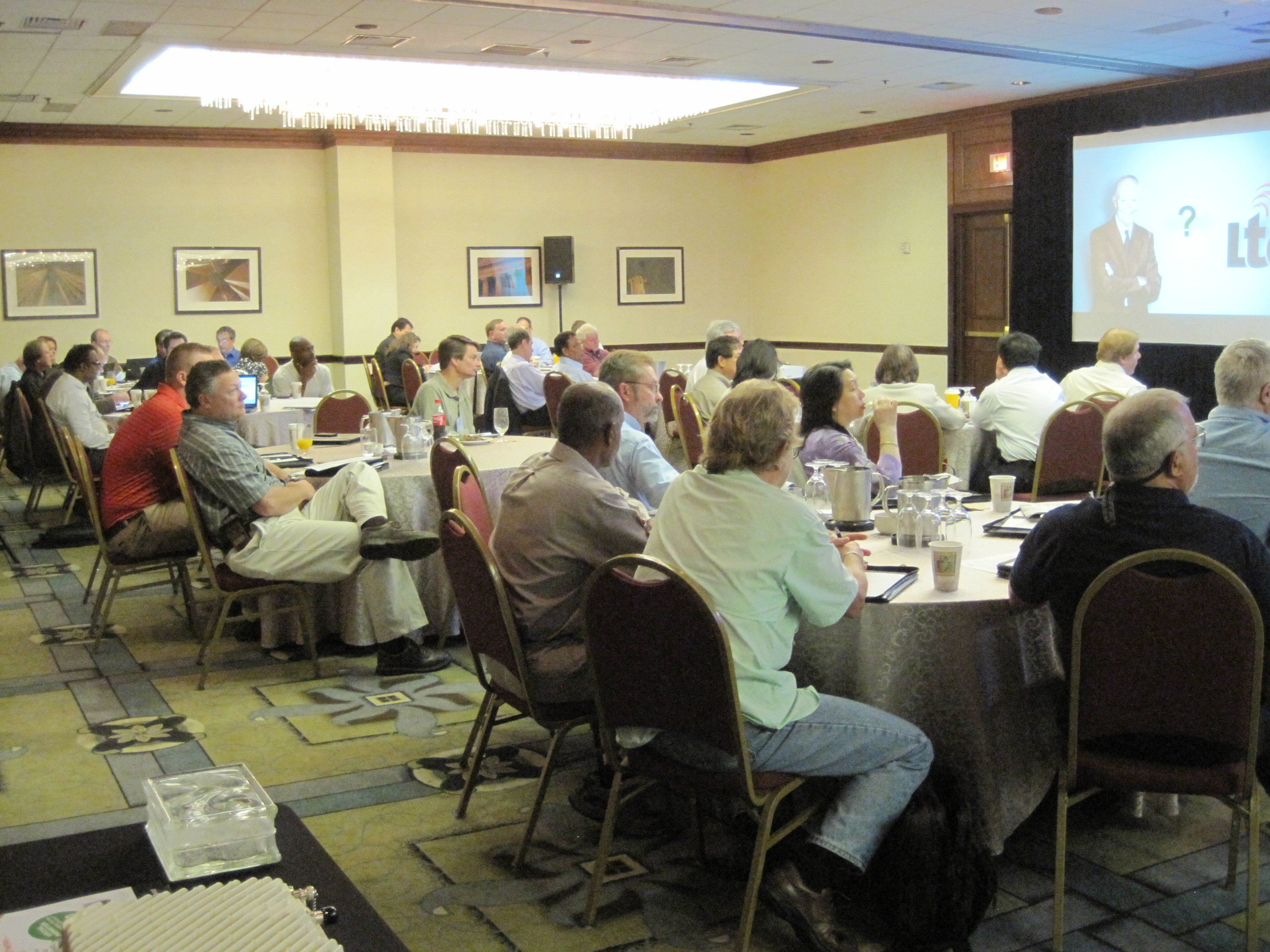 Microwave Networking seminar hosted by Aviat Networks in Washington D.C. Sept 2012