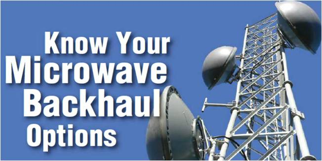 Know Your Microwave Backhaul Options