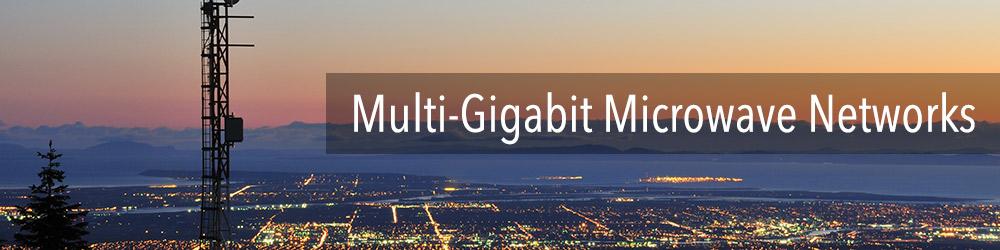 Multi-Gigabit Microwave Networks