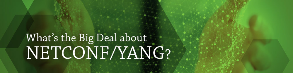 What's the Big Deal about NETCONF/YANG?
