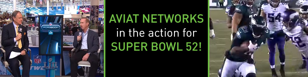 Aviat in the Action for Super Bowl 52!