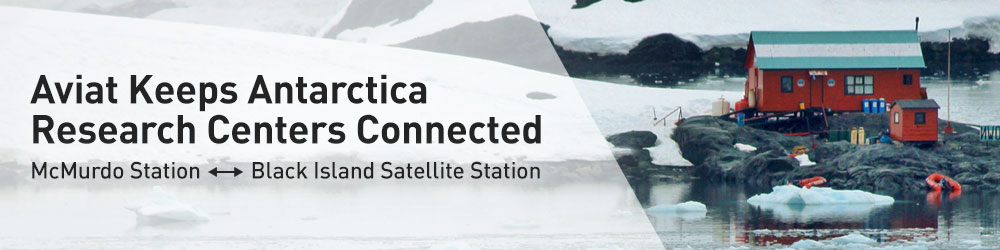 Aviat Keeps Antarctica Research Centers Connected