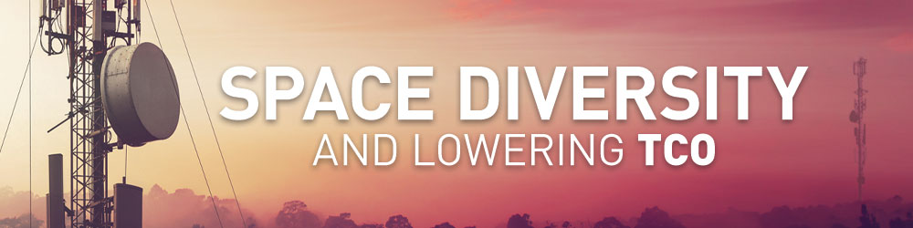 Space Diversity and Lowering TCO