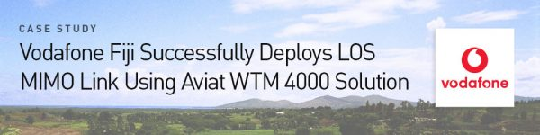 Case Study: Vodafone Fiji Successfully Deploys LOS MIMO Link Using WTM 4000 Solution