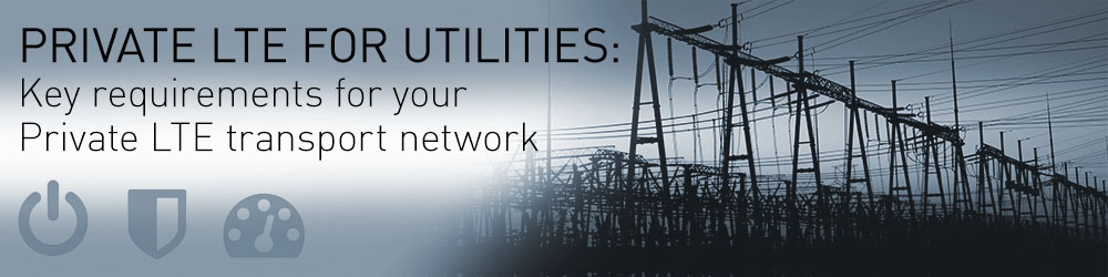Private LTE for Utilities: Key requirements for your Private LTE transport network