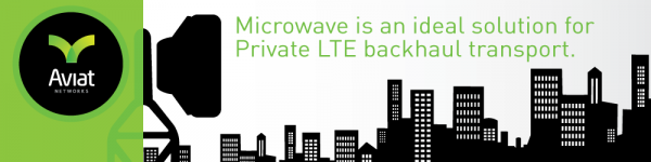 INFOGRAPHIC: Microwave is an ideal solution for Private LTE backhaul transport
