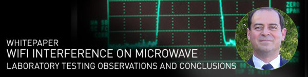 WiFi Interference on Microwave: Laboratory testing observations and conclusions