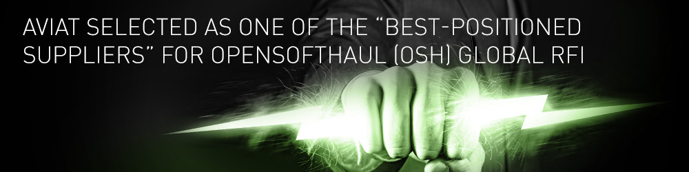 """Aviat selected as one of the """"best-positioned suppliers"""" for OpenSoftHaul (OSH) global RFI"""