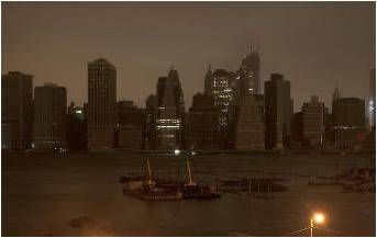 After Superstorm Sandy more than 8 million people were without power on the East Coast of the US and Canada, including most of New York City.