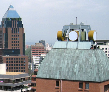 Class 4 antennas helped reduce interference due to congestion for 3 sites in South America