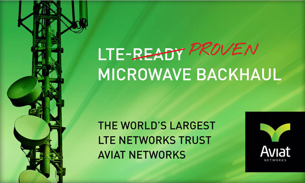 Aviat Networks is LTE PROVEN