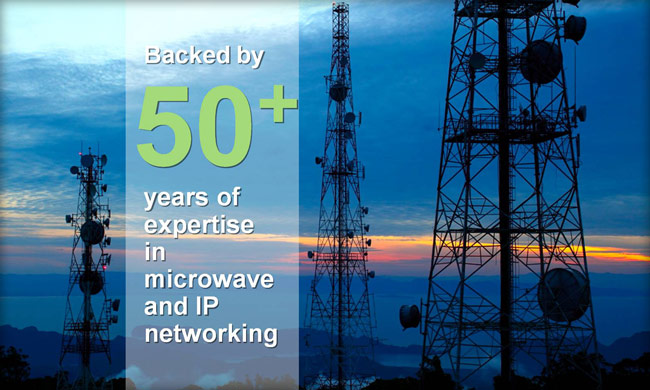 Aviat Networks has over 70 years of experience in microwave and IP networking