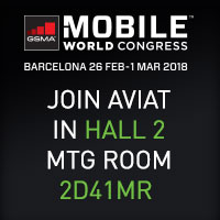 Book a meeting with Aviat at MWC 2018